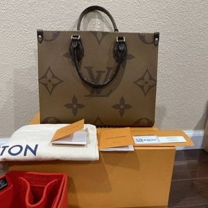 Authentic LV Onthego MM Tote